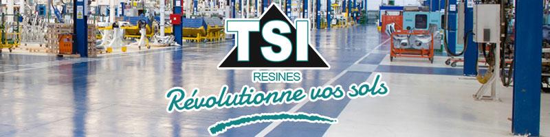 tsi résines révolutionne vos sols logo