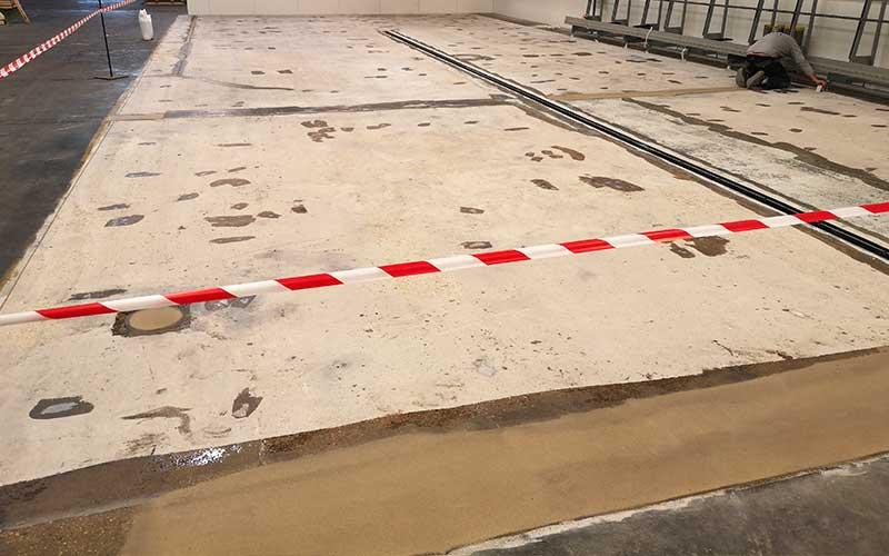 revêtement sol usine atelier mécanique 1
